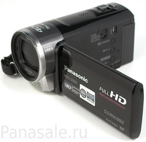 Panasonic: видеокамера