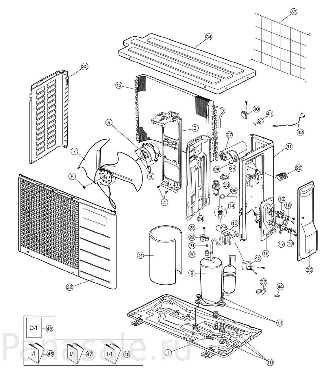 инструкция на panasonic kx-tga250ru