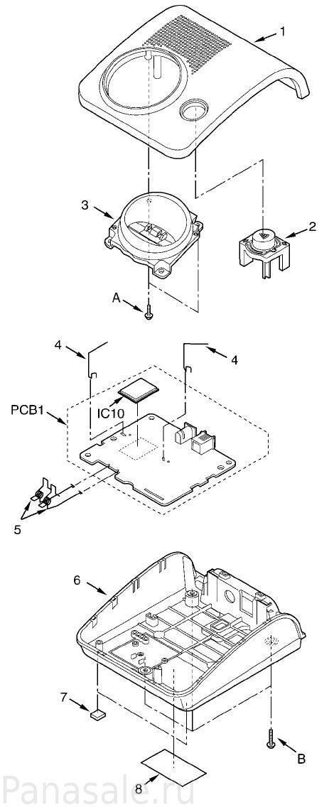 Схема kx tg7205ru