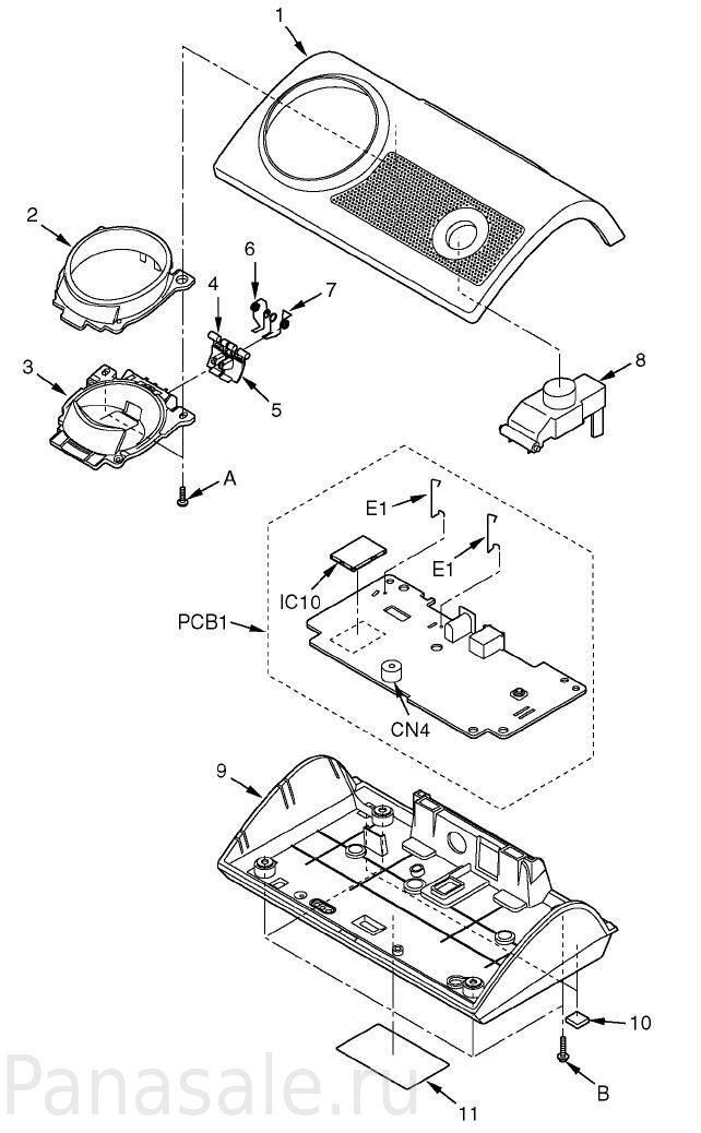 KX-TG8105RU базовый блок
