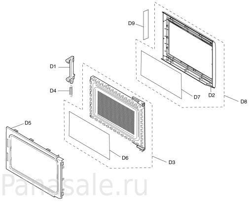 GD376 микроволновка схема1
