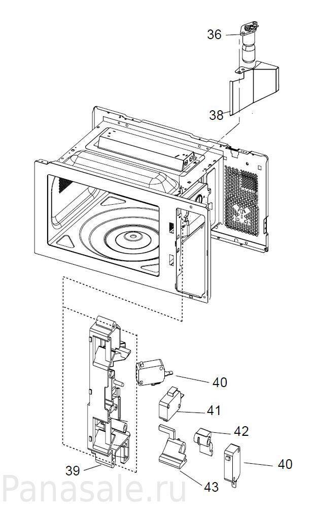NN-GM230M микроволновка