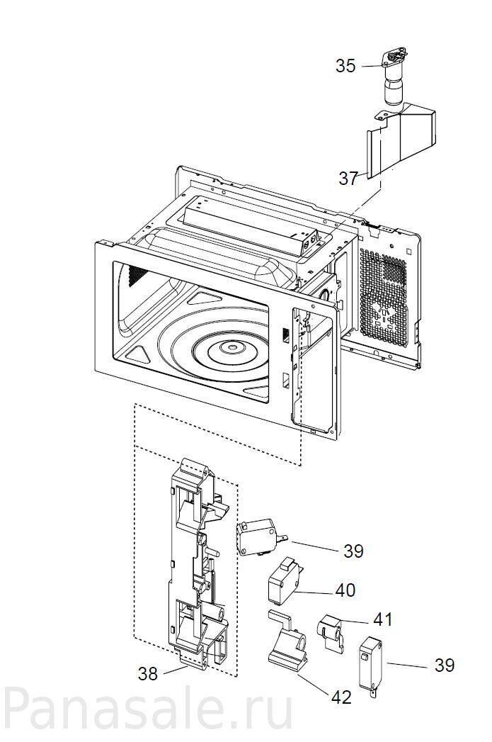 NN-GT260 микроволновка