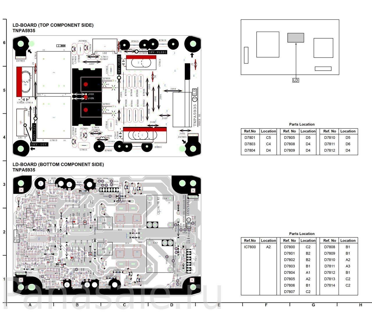 Схема телевизора panasonic tx 28s1s